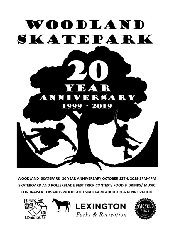 Woodland 20 Year Event Flyer 101219